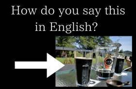 in english black beer