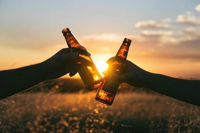 ビール振動